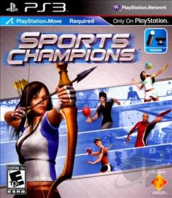 Sports Champions PS3 Cover Art