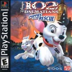 102 Dalmatians: Puppies to the Rescue PS Cover Art