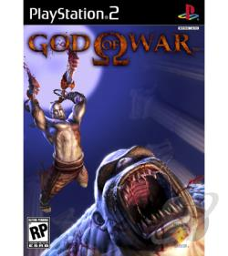 God of War PS2 Cover Art