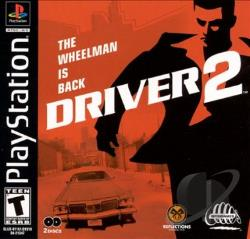 Driver 2 PS Cover Art
