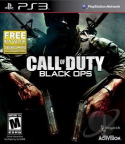 Call of Duty: Black Ops PS3 Cover Art