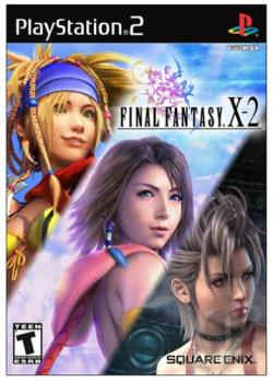 Final Fantasy X-2 PS2 Cover Art
