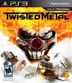 Twisted Metal PS3 Cover Art