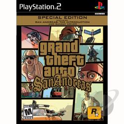 Grand Theft Auto: San Andreas Greatest Hits PS2 Cover Art