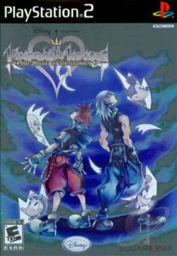 Kingdom Hearts Re: Chain of Memories PS2 Cover Art