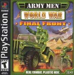 Army Men: World War Final Front PS Cover Art
