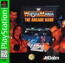 WWF Wrestlemania: The Arcade Game PS Cover Art
