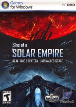 Sins of a Solar Empire PCG Cover Art