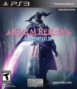Final Fantasy XIV Online: A Realm Reborn PS3 Cover Art