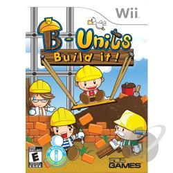B-Units: Build It! WII Cover Art