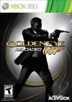 GoldenEye 007: Reloaded XB360 Cover Art