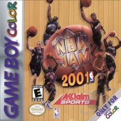 NBA Jam 2001 GB Cover Art