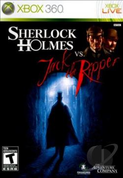 Sherlock Holmes vs. Jack the Ripper XB360 Cover Art