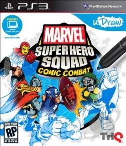 Marvel Super Hero Squad: Comic Combat PS3 Cover Art