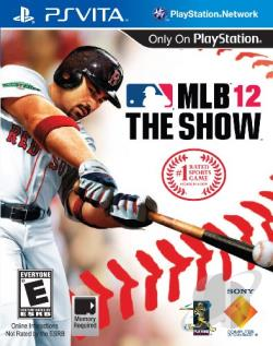 MLB 12: The Show PSV Cover Art