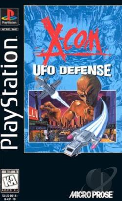 X-COM: UFO Defense PS Cover Art