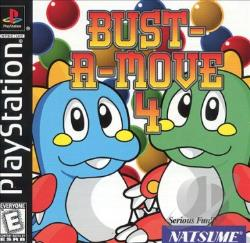 Bust-A-Move 4 PS Cover Art