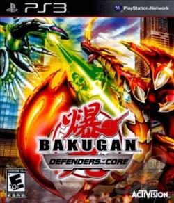Bakugan: Defenders of the Core PS3 Cover Art