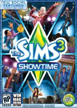 Sims 3: Showtime PCG Cover Art