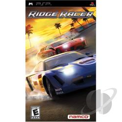 Ridge Racer PSV Cover Art