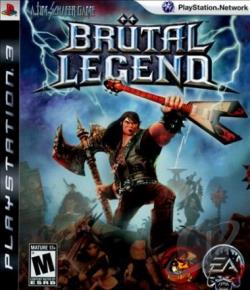 BruTal Legend PS3 Cover Art