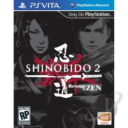 Shinobido 2: Revenge of Zen PSV Cover Art