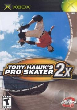 Tony Hawk's Pro Skater 2X XB Cover Art