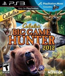 Cabela's Big Game Hunter 2012 PS3 Cover Art