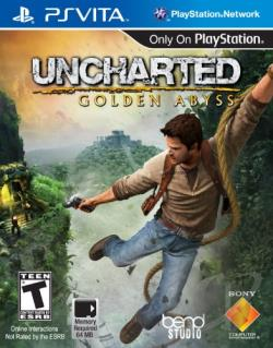 Uncharted: Golden Abyss PSV Cover Art