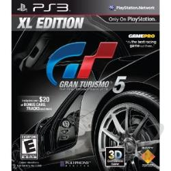 Gran Turismo 5: XL Edition PS3 Cover Art