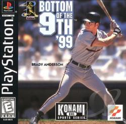 Bottom of the 9th '99 PS Cover Art