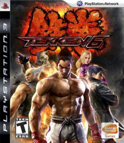 Tekken 6 PS3 Cover Art