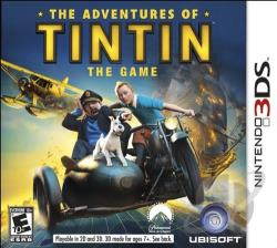 Adventures of Tintin: The Game 3DS Cover Art