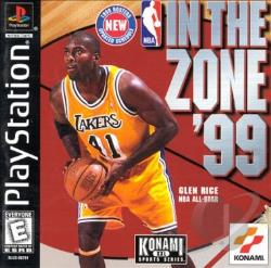 NBA In the Zone '99 PS Cover Art