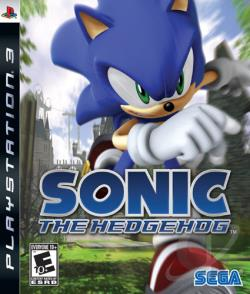 Sonic the Hedgehog PS3 Cover Art