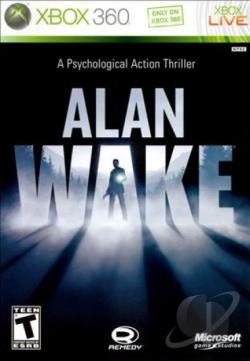 Alan Wake XB360 Cover Art