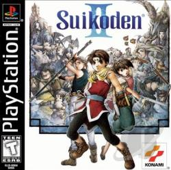 Suikoden II PS Cover Art