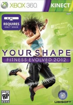 Your Shape: Fitness Evolved 2012 XB360 Cover Art