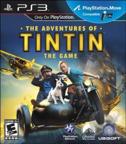 Adventures of Tintin: The Game PS3 Cover Art