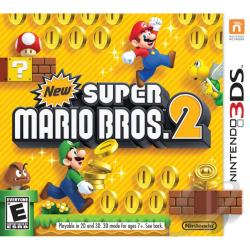 New Super Mario Bros. 2 3DS Cover Art