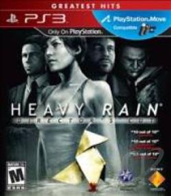 Heavy Rain PS3 Cover Art