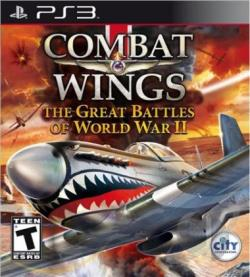 Combat Wings: The Great Battles Of World War II PS3 Cover Art