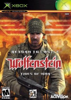 Return To Castle Wolfenstein: Tides Of War XB Cover Art