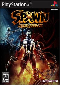 Spawn: Armageddon PS2 Cover Art