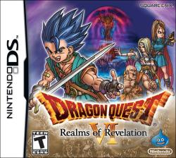 Dragon Quest VI: Realms of Revelation NDS Cover Art