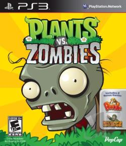 Plants vs. Zombies PS3 Cover Art