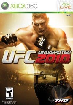 UFC Undisputed 2010 XB360 Cover Art