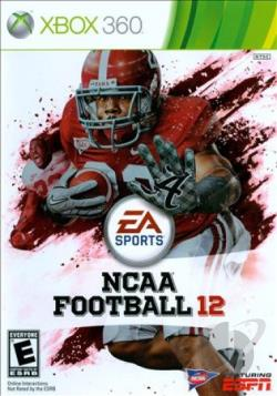 NCAA Football 12 XB360 Cover Art