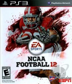 NCAA Football 12 PS3 Cover Art