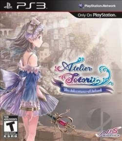 Atelier Totori: The Adventurer of Arland PS3 Cover Art